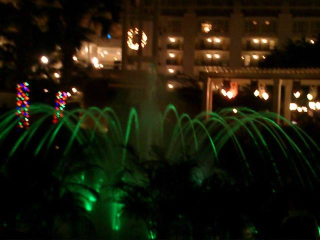 Vannfontene m lys 8